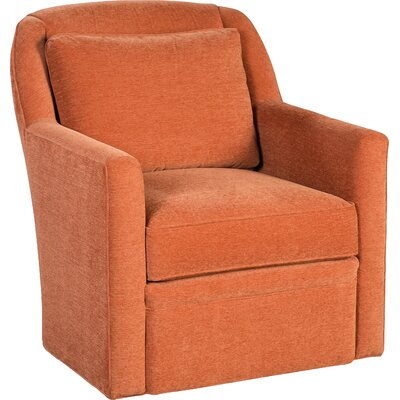 Swivel Armchair Upholstery: 3252 Copper