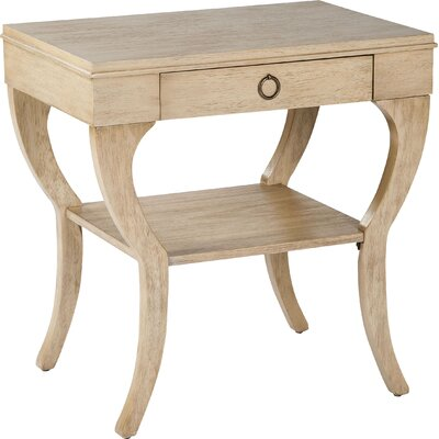 End Table with Storage Color: Light Dusty Khaki