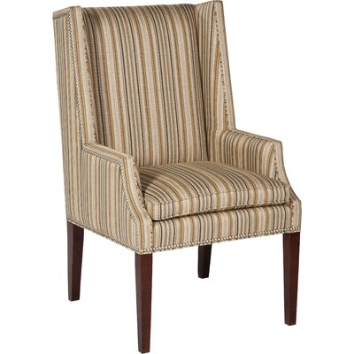 High Wingback Chair Upholstery: Quartz