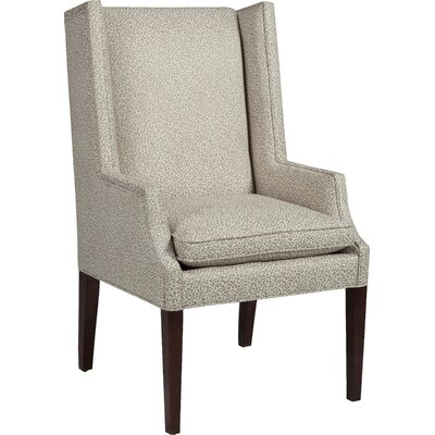 Transitional Wingback Chair Upholstery: 9593 Mist