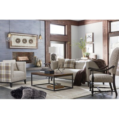 Colton Lounge Chair Body Fabric: 9534 Pewter