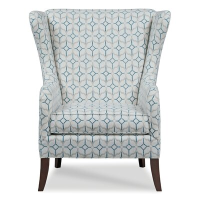 Garrett Wingback Chair Body Fabric: 9690 Silver
