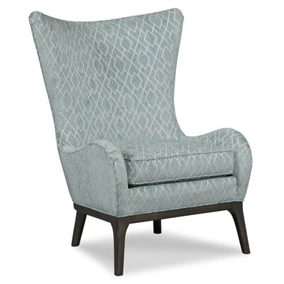 Casper Wingback Chair Body Fabric: 3004 Charcoal