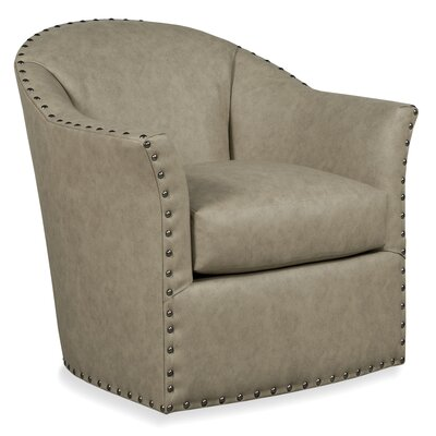 Bosley Swivel Armchair Body Fabric: 7689 Parchm