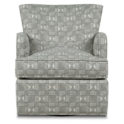 Blaire Swivel Armchair Body Fabric: 9691 Onyx