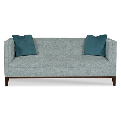Colton Sofa Body Fabric: 9944 Pottery/9534 Pewter