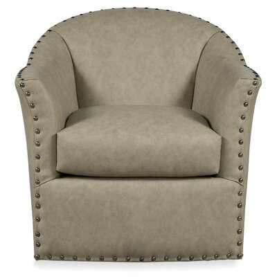 Bosley Swivel Armchair Body Fabric: 9577 Chocolate