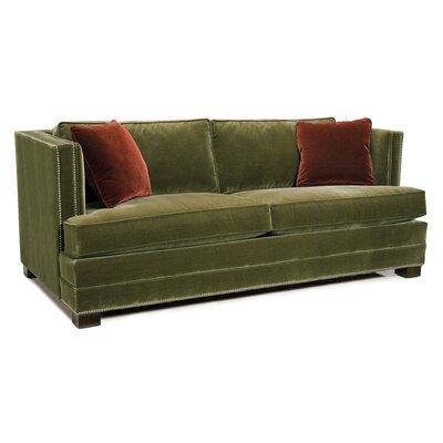 Tuxedo Polyester Sofa Upholstery: Ivory