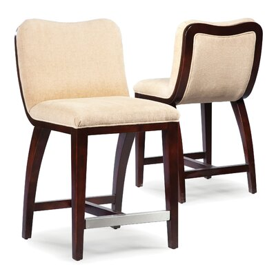 26 Bar Stool Upholstery: Cream