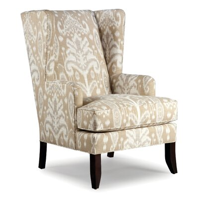 Loose Seat Wingback chair Color: Ecru