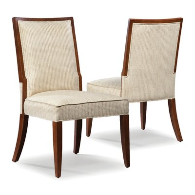 Polyester Side Chair Upholstery: Cream