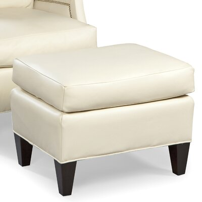 Leather Ottoman Upholstery: Pearl