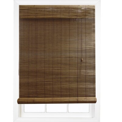 "Radiance Premium Matchstick Rayon Energy Efficient RollUp Blind - Color: Fruitwood, Size: 72"" H x 23"" W at Sears.com"