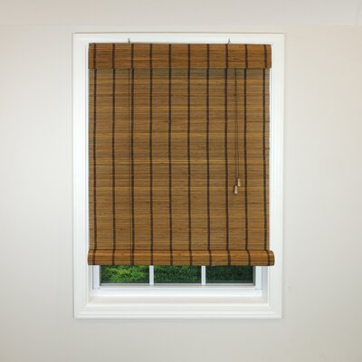 Radiance Semi-Sheer Roman Shade Size: 30 W x 72 L, Color: Sable