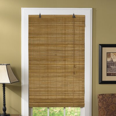 "Radiance Flatstick Rayon Roll-Up Blind - Size: 72"" H x 36"" W, Color: Spice at Sears.com"