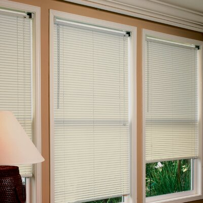 "Radiance Premium Room Darkening  Mini Horizontal Blind - Size: 23""W x 64""H, Color: Alabaster at Sears.com"