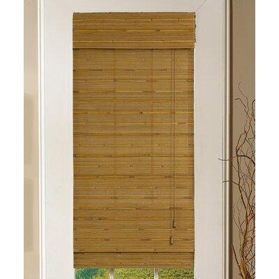 Hulda Bamboo Roman Shade Size: 52 W x 64 L