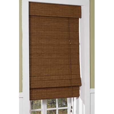 Room Darkening Maple Roman Shade Size: 71