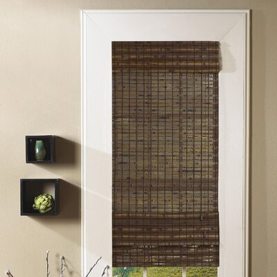 Tirado Bamboo Roman Shade Size:  48 W x 64 L, Color: Cocoa
