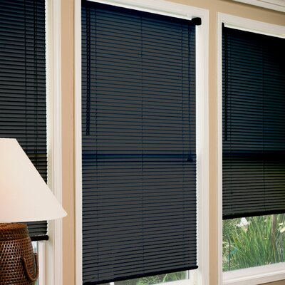 Venetian Blind Size:  70 W x 64 L, Color: Black
