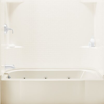 Accord 33.75 x 32 Soaking Bathtub Finish: Biscuit