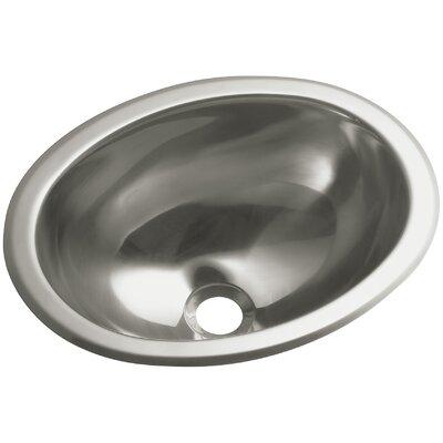 13.25 x 10.5 Oval Lavatory Kitchen Sink (Set of 6)