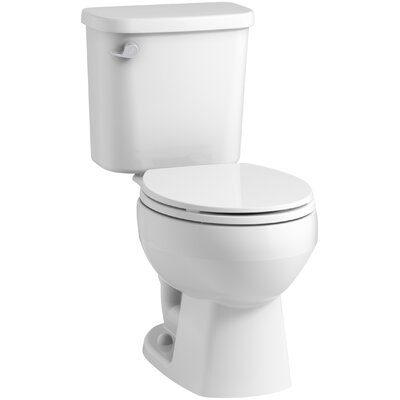 Windham? 12 Rough-in Round Front Toilet Tank Finish: White