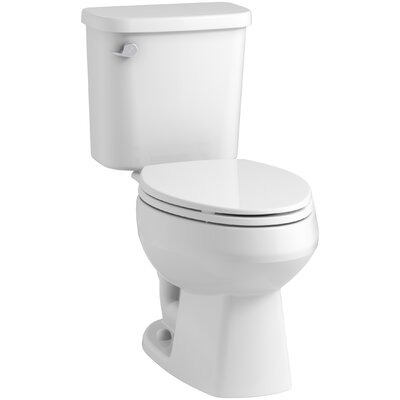 Windham? 12 Rough-in Elongated Toilet Tank Finish: White