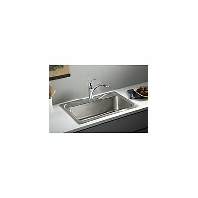 Southhaven 33 x 22 X Single Basin Drop-In Kitchen Sink
