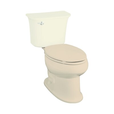 Stinson 1.6 GPF Elongated Toilet Bowl Only Finish: Almond