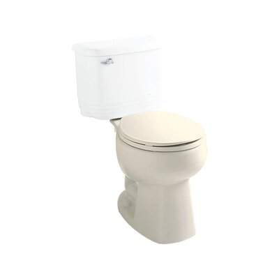 Windham 1.28 GPF Round Toilet Bowl Only Finish: Biscuit