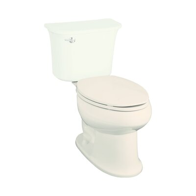 Stinson 1.6 GPF Elongated Toilet Bowl Only Finish: Biscuit