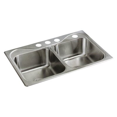 Southhaven 33 x 22 Double Bowl Kitchen Sink