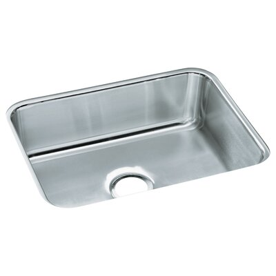 McAllister 23.38 x 17.69 Undermount Single Bowl Kitchen Sink