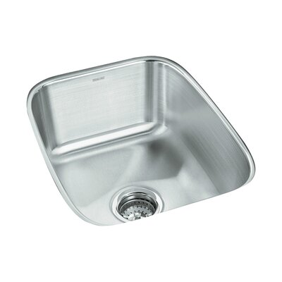 Springdale 20.5 x 16.25 No Holes Undermount Single Bowl Kitchen Sink