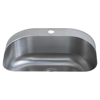 Cinch 26.5 x 20.4 Single Bowl Kitchen Sink