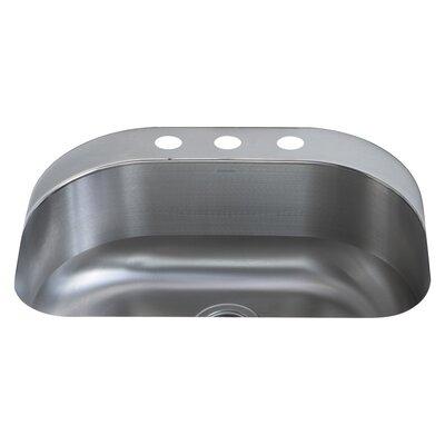 Cinch 26.5 x 20.4 Single Bowl Kitchen Sink