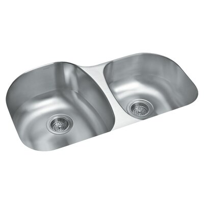 Cinch 31.5 x 20.5 Undercounter Offset Kitchen Sink