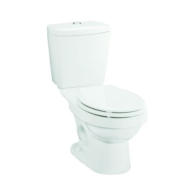 Karsten Dual Flush Elongated 2 Piece Toilet Finish: White
