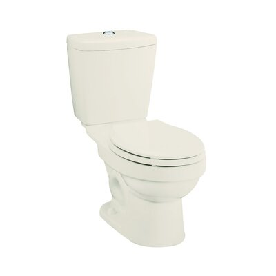 Karsten Dual Flush Elongated 2 Piece Toilet Finish: Biscuit
