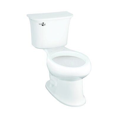 Stinson 1.28 GPF Elongated 2 Piece Toilet Finish: White