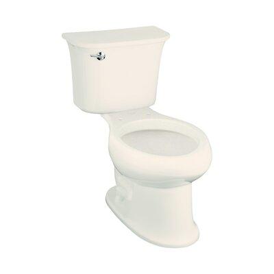 Stinson 1.28 GPF Elongated 2 Piece Toilet Finish: Biscuit