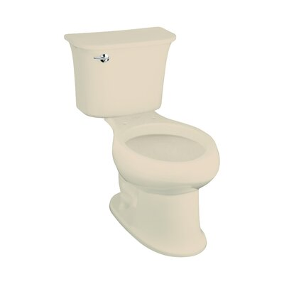 Stinson 1.28 GPF Elongated Two-Piece Toilet Finish: Almond