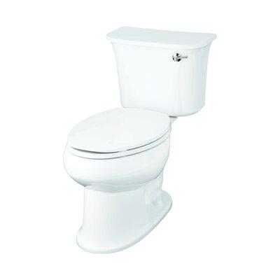 Stinson 1.28 GPF Elongated 2 Piece Toilet Finish: White