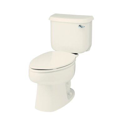 Windham Right Hand 1.6 GPF Elongated 2 Piece Toilet Finish: Biscuit
