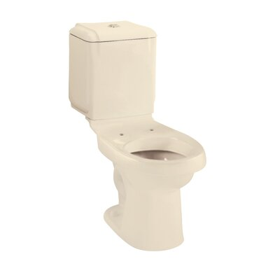 Rockton 1.6 GPF Elongated 2 Piece Toilet Finish: Almond