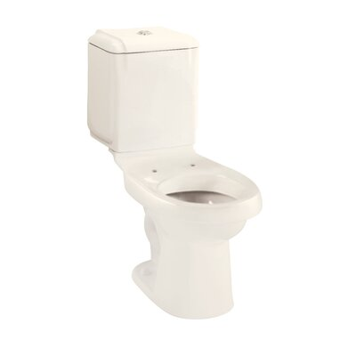 Rockton 1.6 GPF Elongated 2 Piece Toilet Finish: Biscuit