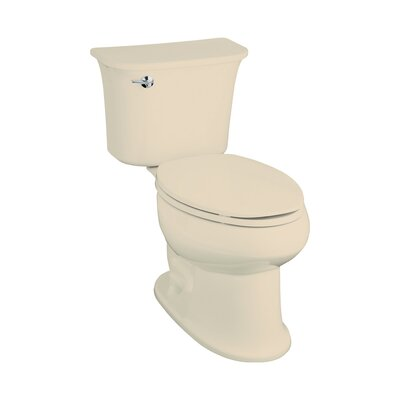 Stinson 1.6 GPF Elongated Luxury Height 2 Piece Toilet Finish: Almond