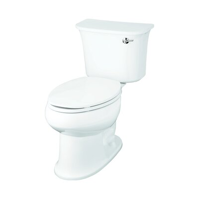 Stinson 1.6 GPF Elongated 2 Piece Toilet Finish: White