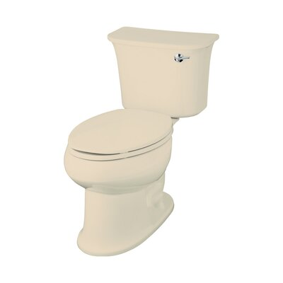 Stinson 1.6 GPF Elongated 2 Piece Toilet Finish: Almond